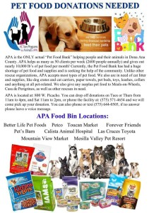 APA-Pet Food