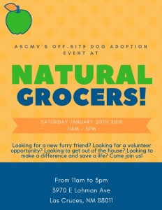 Natural Grocers Adoption Event