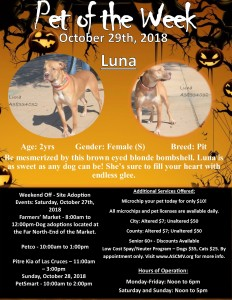Oct 29th Luna