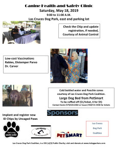 Canine Health and Safety Clinic w.phones 5-18-2019